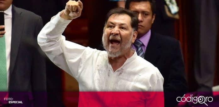 La Sala Superior del TEPJF resolvió que Gerardo Fernández Noroña cometió violencia política en razón de género. Foto: Especial