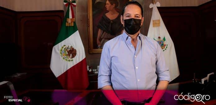 El gobernador de Querétaro, Francisco Domínguez Servién, anunció apoyos por 400 millones de pesos. Foto: Especial