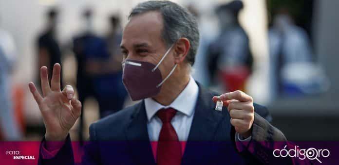 El subsecretario de Prevención y Promoción de la Salud, Hugo López-Gatell confirmó que resultó negativo a COVID-19. Foto. Especial