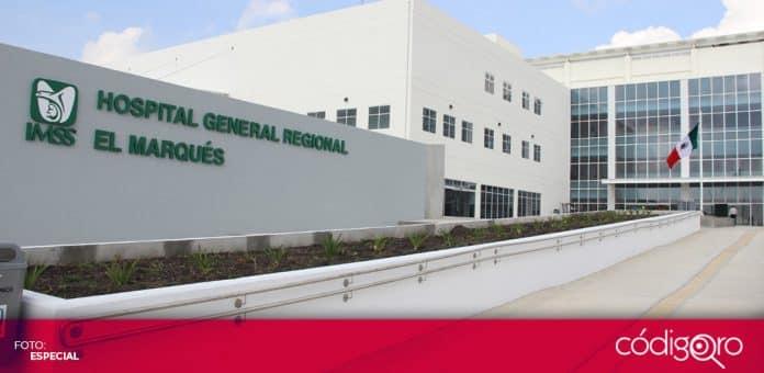 El IMSS no ha dejado de atender a pacientes con COVID-19 en el estado de Querétaro. Foto: Especial
