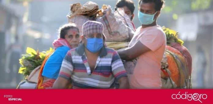 El Gobierno de la India comenzará la vacunación contra COVID-19 de 300 millones de sus mil 350 millones de habitantes. Foto: Especial