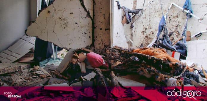 La explosión en una vivienda de la colonia Los Encinos fue ocasionada por acumulación de gas LP. Foto: Especial