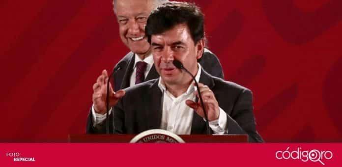 El vocero del Gobierno de México, Jesús Ramírez Cuevas, fue diagnosticado con COVID-19. Foto: Especial