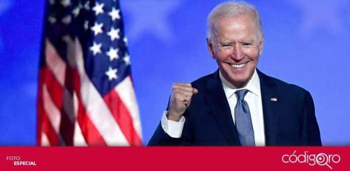 A partir del próximo 20 de enero, Joe Biden será el 46º presidente en la historia de Estados Unidos. Foto: Especial
