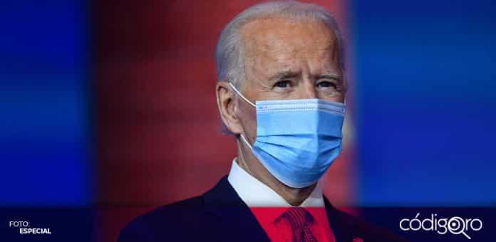 El presidente electo de Estados Unidos, Joe Biden, anunció que inyectará 1.9 billones de dólares a la economía. Foto: Especial
