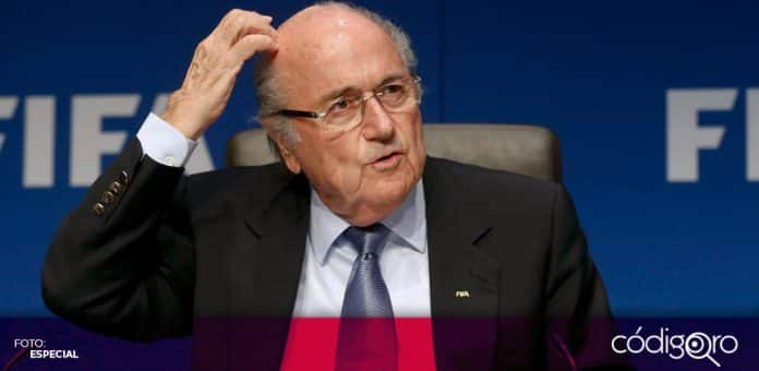 El expresidente de la FIFA, Joseph Blatter, está hospitalizado por un problema serio de salud. Foto: Especial