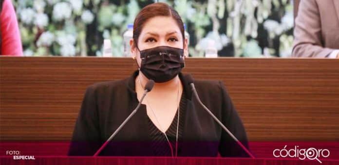 La diputada local del PRI, Karina Careaga Pineda, anunció su intención de contender por la alcaldía del municipio de Jalpan de Serra. Foto: Especial