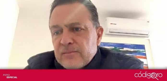 El senador del PAN Mauricio Kuri González se reunió virtualmente con líderes migrantes del estado de Querétaro. Foto: Especial
