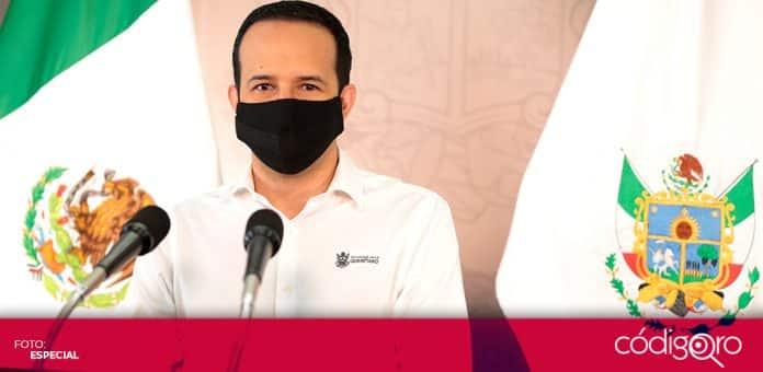 El vocero organizacional del Gobierno del Estado de Querétaro, Rafael López González, advirtió las consecuencias de no cumplir las medidas sanitarias. Foto: Especial