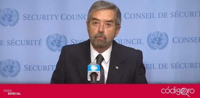 México se integró oficialmente como miembro no permanente del Consejo de Seguridad de la ONU. Foto: Especial