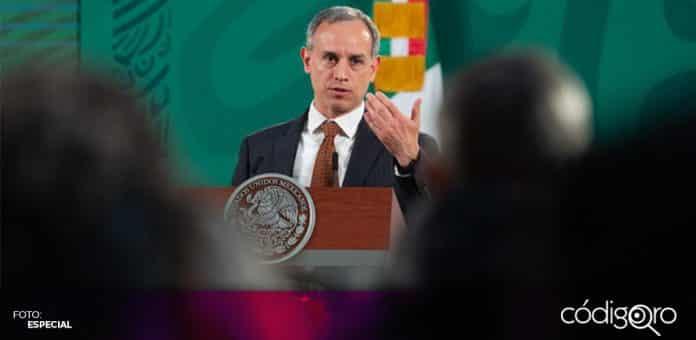El subsecretario de Prevención y Promoción de la Salud, Hugo López-Gatell, aseguró que la nueva variante de COVID-19 no es