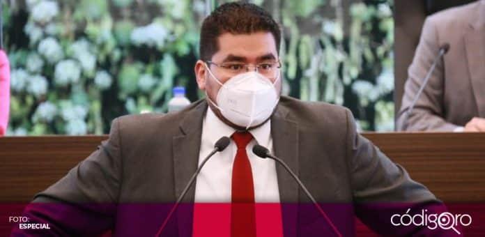 El diputado local de Morena, Néstor Domínguez Luna, criticó las aspiraciones de varios políticos priistas. Foto: Especial