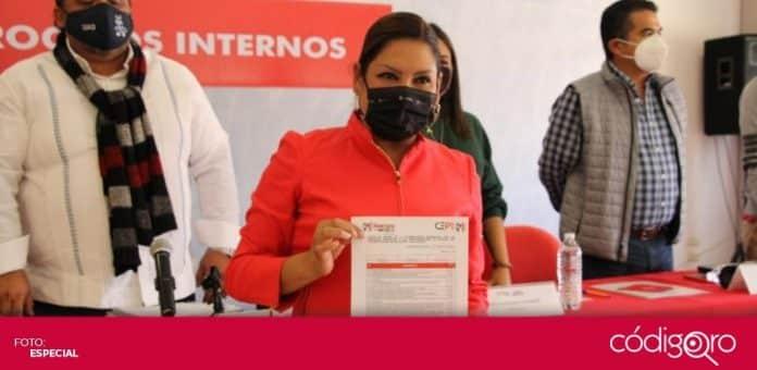 Priistas se registraron para contender por candidaturas a presidencias municipales y diputaciones locales. Foto: Especial