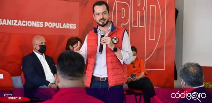 El dirigente estatal del PRI en Querétaro, Paul Ospital, afirmó que el tricolor postulará a una mujer como candidata a la gubernatura. Foto: Especial