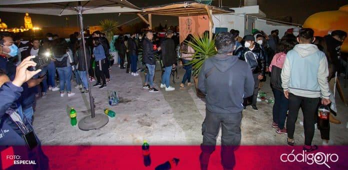 Dos fiestas fueron suspendidas durante el pasado fin de semana en la ciudad de Querétaro. Foto: Especial