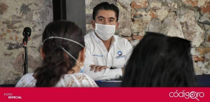 El presidente municipal de Corregidora, Roberto Sosa Pichardo, fue diagnosticado con COVID-19. Foto: Especial