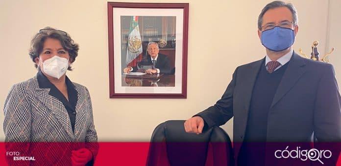 Delfina Gómez ocupará la titularidad de la SEP en relevo de Esteban Moctezuma. Foto: Especial