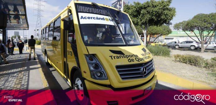 El servicio Acercándote ofrece servicio de transporte desde el 14 de diciembre del año pasado. Foto: Especial