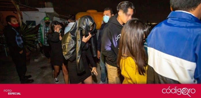 La Unidad Especial AntiCOVID-19 dispersó a los asistentes a 11 eventos. Foto: Especial