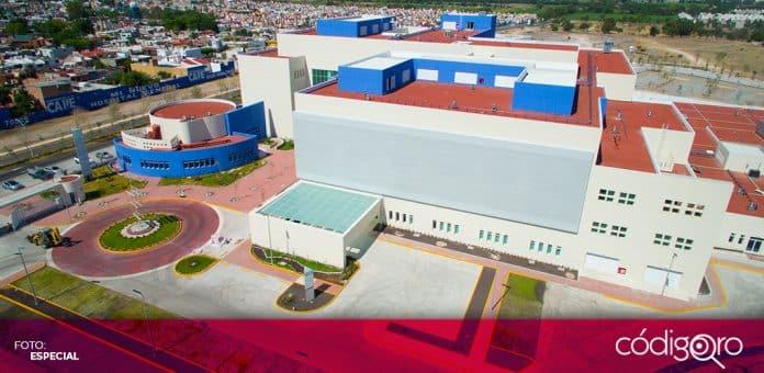 El nuevo Hospital General de Querétaro será inaugurado por el presidente de México, Andrés Manuel López Obrador. Foto: Especial