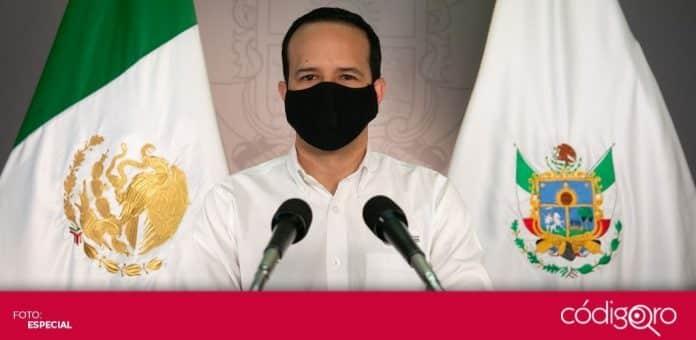 El vocero organizacional del Gobierno del Estado de Querétaro, Rafael López González, advirtió sobre el riesgo de una nueva tendencia al alza de COVID-19. Foto: Especial