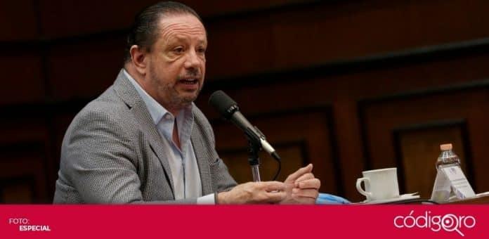Jorge Rivadeneyra Díaz fue reelegido para un tercer periodo al frente de la Canacintra en el estado de Querétaro. Foto: Especial