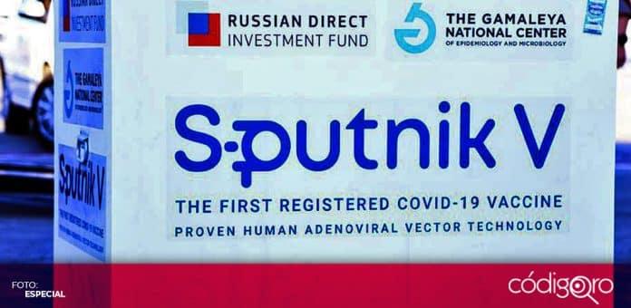 Rusia envió a México las primeras 200 mil dosis de la vacuna Sputnik V contra COVID-19. Foto: Especial