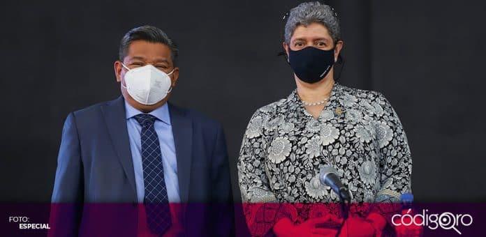 El secretario de Educación del estado de Querétaro, José Carlos Arredondo Velázquez, rindió protesta como miembro del Consejo Universitario de la UAQ. Foto: Especial