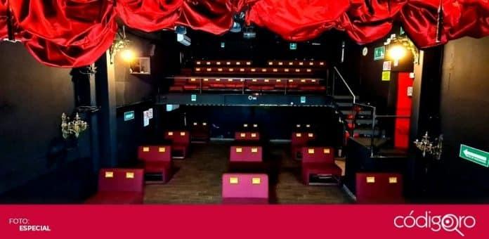 A partir de este fin de semana, teatros y foros podrán reabrir con 25% de aforo. Foto: Especial