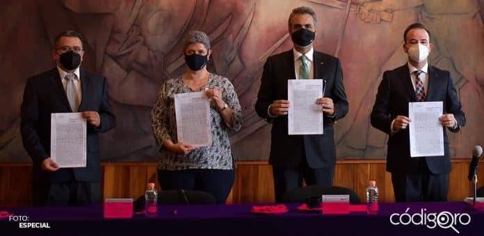 La UAQ y el SUPAUAQ alcanzaron un acuerdo para evitar la huelga el próximo lunes 1 de marzo. Foto: Especial