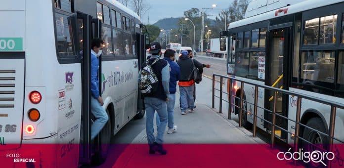 La FEUQ pedirá al Congreso del Estado de Querétaro garantizar el apoyo para transporte público a los estudiantes universitarios. Foto: Especial