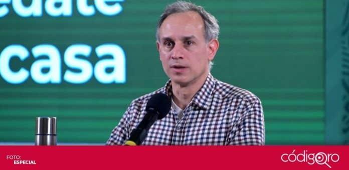 López-Gatell recomendó las vacunas de Pfizer, AstraZeneca y Sputnik V para los adultos mayores. Foto: Especial