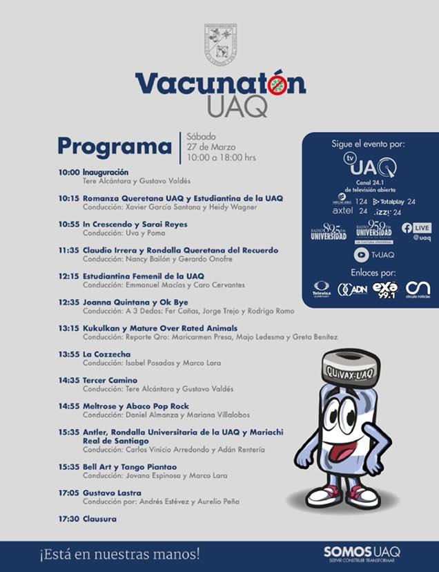 El Vacunatón UAQ ha recaudado 2 millones de pesos ¡Sigue participando!