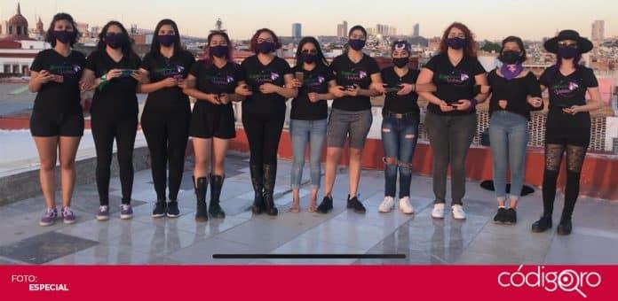 Activistas y colectivas demandaron el cumplimiento del 3 de 3 en materia de violencia de género. Foto: Especial
