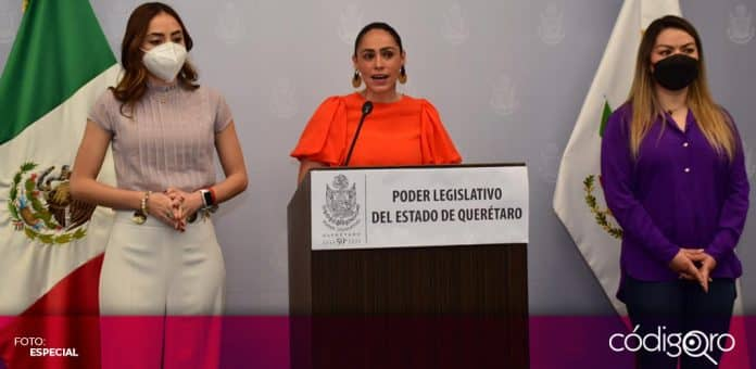 La diputada local del PRI, Abigail Arredondo, pidió que el Congreso del Estado de Querétaro discuta 11 iniciativas a favor de las mujeres. Foto: Especial