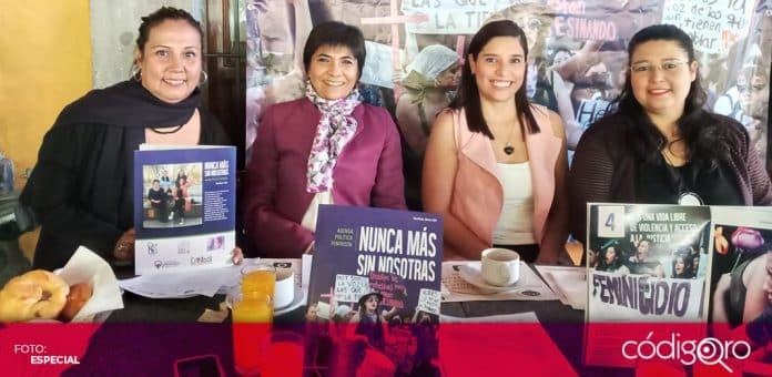 Activistas presentaron los detalles de la agenda política feminista. Foto: Especial