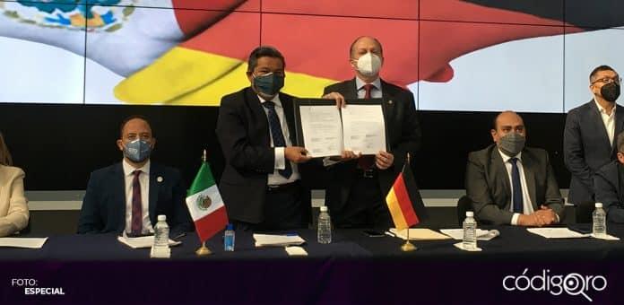 Fue firmada la Alianza Estratégica Querétaro-Alemania. Foto: Especial