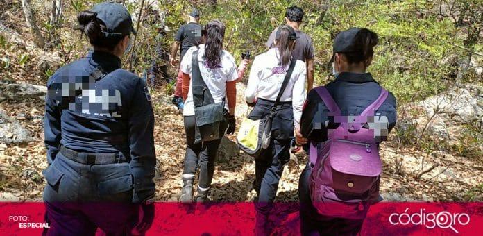 Organizaciones de personas desaparecidas realizaron un recorrido de búsqueda en San Juan del Río. Foto: Especial