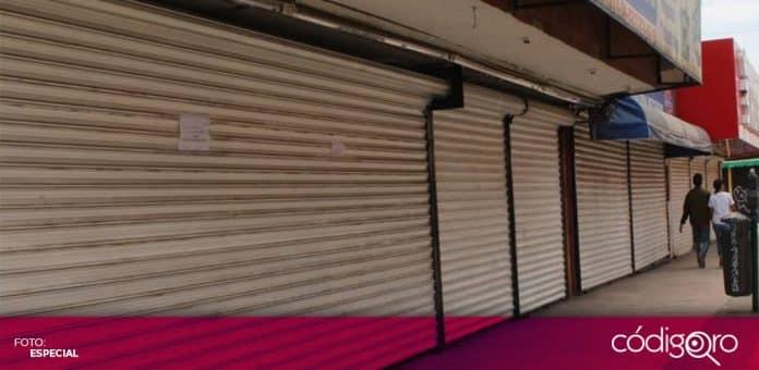 La Canaco Querétaro admitió que los establecimientos ubicados en plazas comerciales son los más afectados por la pandemia. Foto: Especial