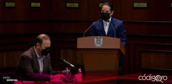 El gobernador de Querétaro, Francisco Domínguez Servién, afirmó que será respetuoso de la ley y el proceso electoral. Foto: Especial