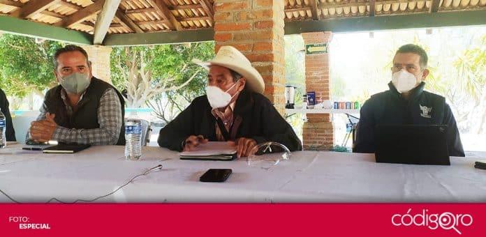 Organizaciones de campesinos y ganaderos se unieron en el Frente por Querétaro. Foto: Especial