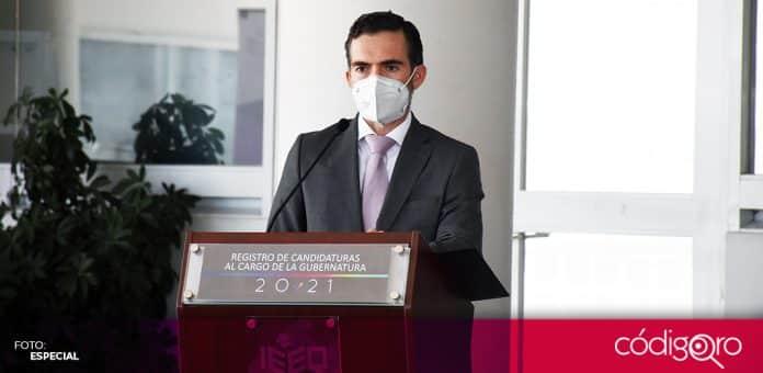 El presidente del IEEQ, Gerardo Romero Altamirano, señaló que la pandemia encareció el costo del proceso electoral. Foto: Especial