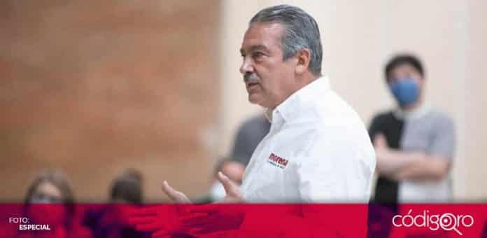 El Consejo General del INE canceló el registro de Raúl Morón, candidato de Morena a la gubernatura de Michoacán. Foto: Especial