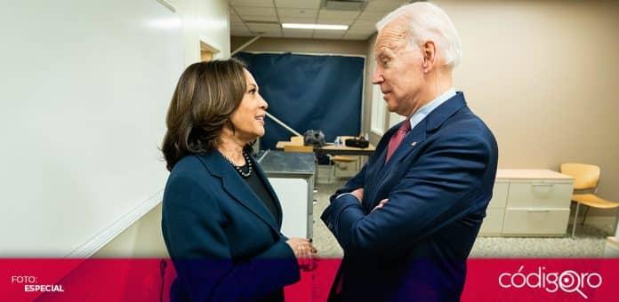El presidente de Estados Unidos, Joe Biden, envió a la vicepresidenta Kamala Harris para atender la crisis en la frontera con México. Foto: Especial