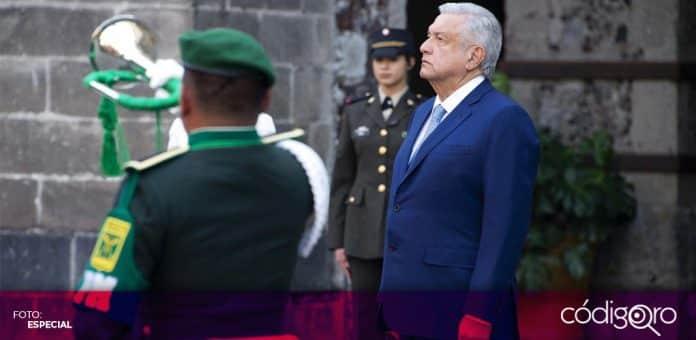 López Obrador negó que el Gobierno de México esté militarizando al país. Foto: Especial