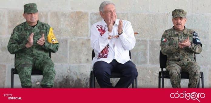 El presidente de México, Andrés Manuel López Obrador, anunció que aumento de la pensión para adultos mayores. Foto: Especial