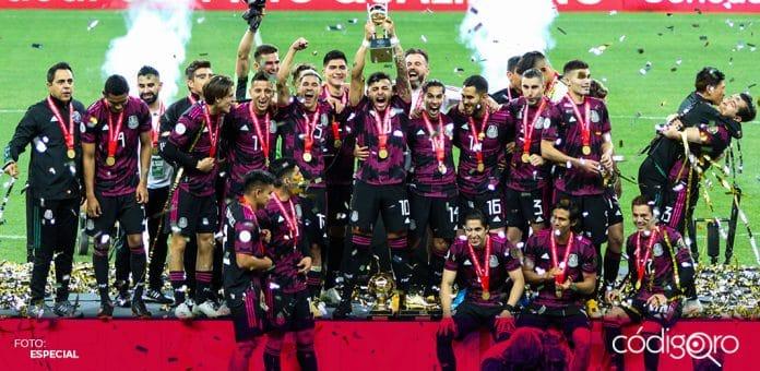 La Selección Nacional de México se coronó en el Torneo Preolímpico de la Concacaf. Foto: Especial