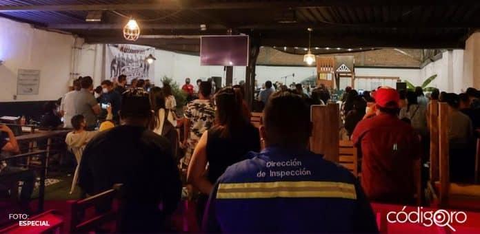 El municipio de Querétaro continúa con los recorridos de supervisión a comercio. Foto: Especial