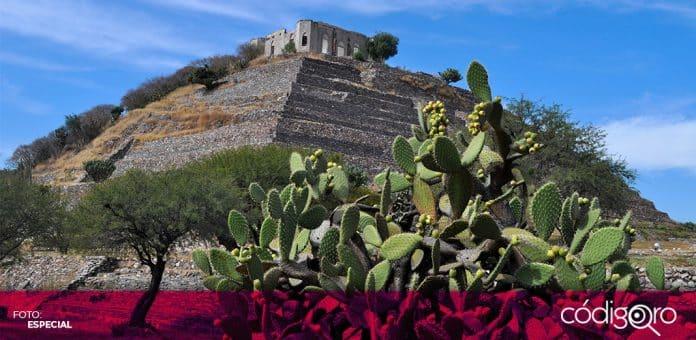 La Lotería Nacional lanzó un billete con la imagen de la Pirámide de El Pueblito. Foto: Especial