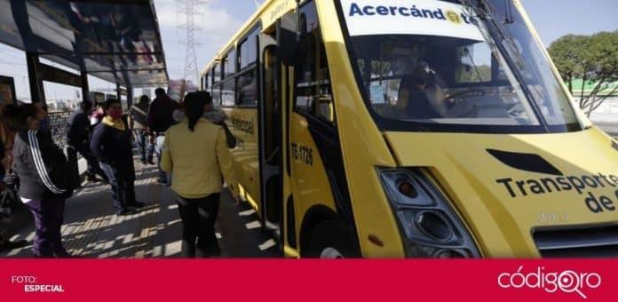 El programa de transporte público